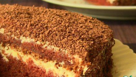 Торт на кефире «Черный принц»