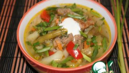 Густой овощной суп «Палитра вкуса»
