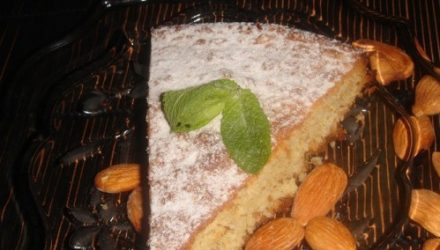Бельгийский миндальный пирог