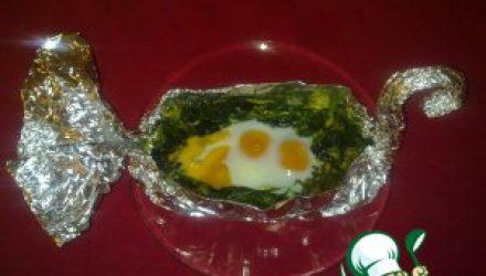 Закуска из яиц «Гуси-лебеди»
