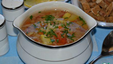 Овощной суп с сельдереем «Лёгкость»