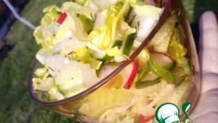 Салат Зеленый букет