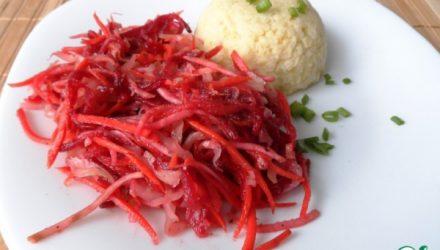 Полезный и актуальный салат «Щётка»
